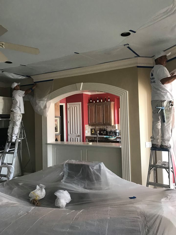 interior exterior house painting services allen mckinney plano the